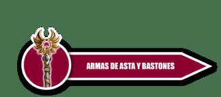 Armas de Asta y Bastones
