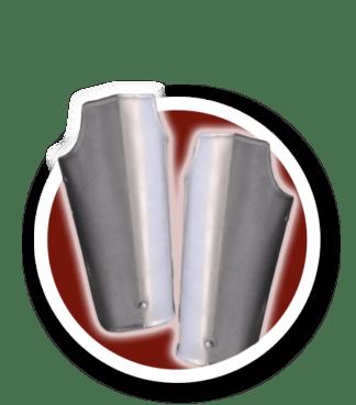 Brazales Metal