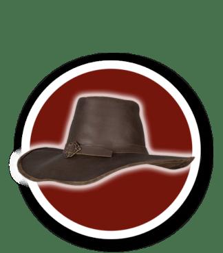 Sombreros y Máscaras de cuero